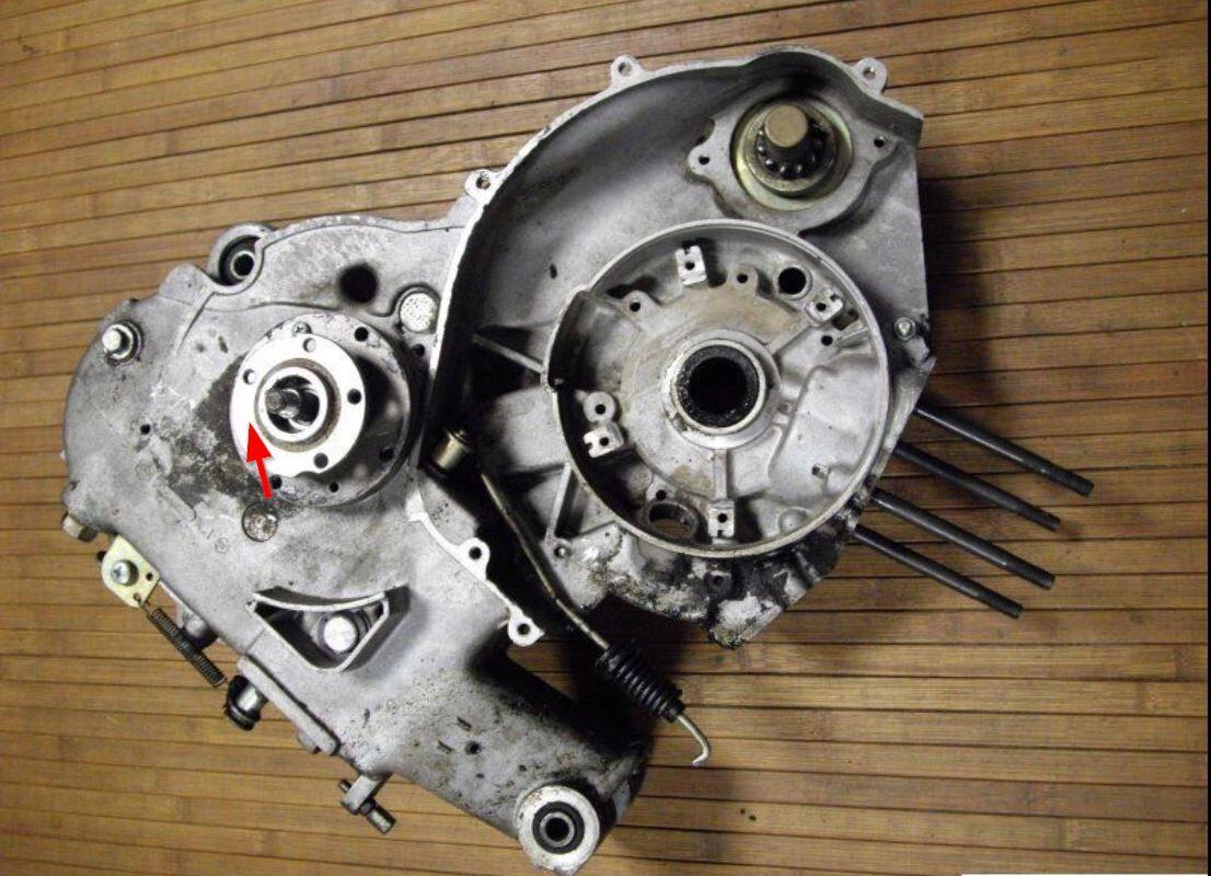 pk 50 xl va52t getriebe kupplung simmerring wechseln. Black Bedroom Furniture Sets. Home Design Ideas