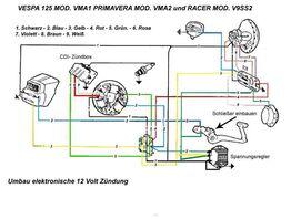 umr stung v50 special auf 12 volt vespa elektrik das vespa forum f r deinen roller vespaonline