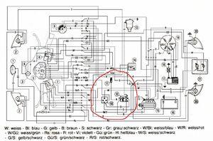 Fehler im Schaltplan PK automatik? - Vespa Elektrik - Das Vespa ...