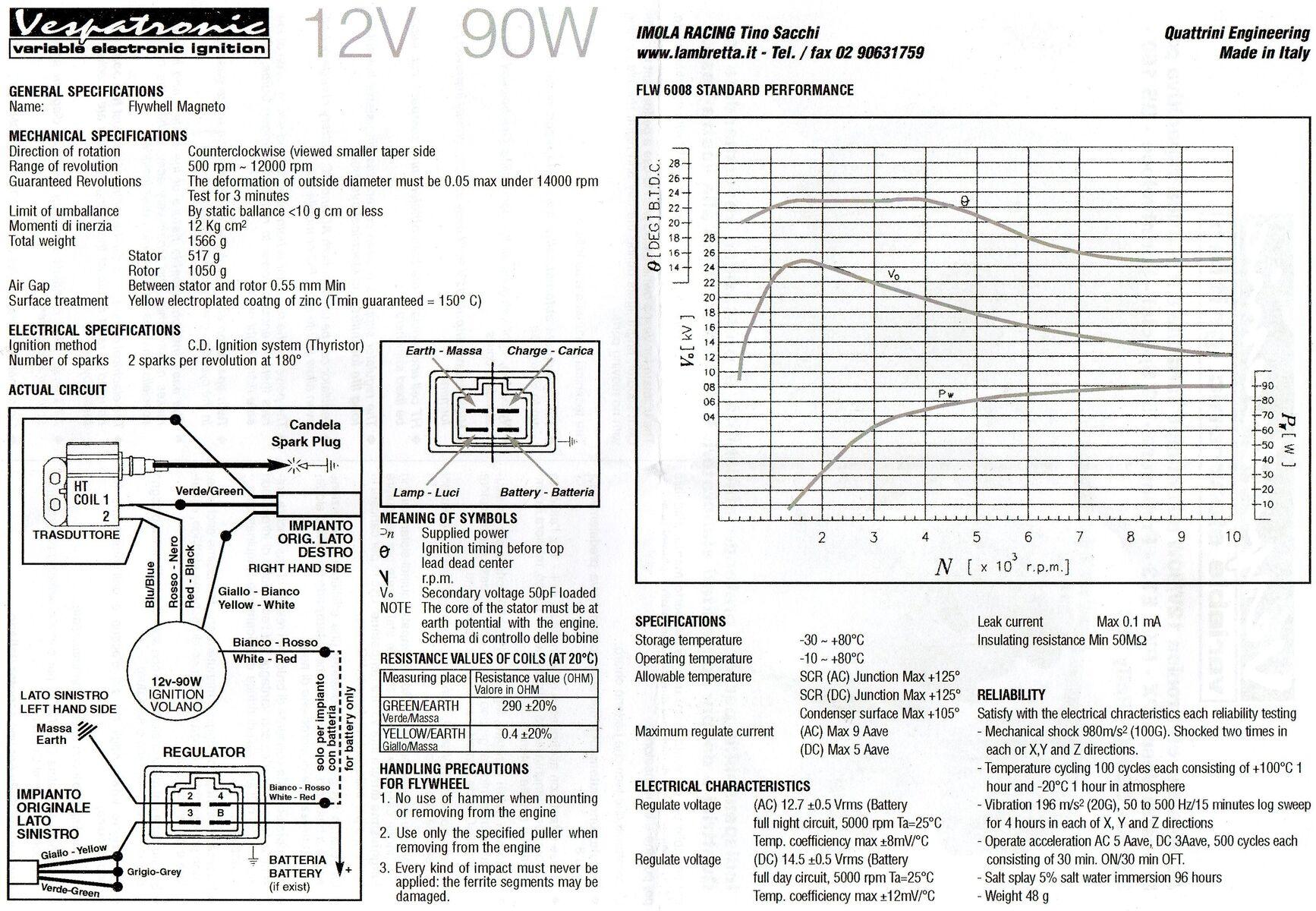 vespatronic anschliessen - vespa elektrik