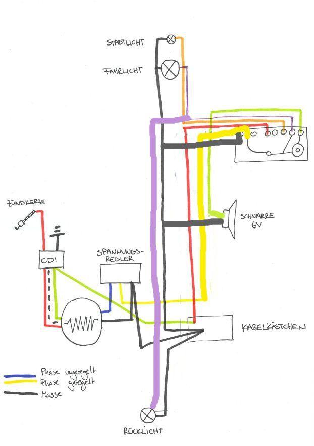Fantastisch Kawasaki Spannungsregler Schaltplan Zeitgenössisch ...